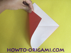 Simple flower origami - how to origami simple flower instruction4