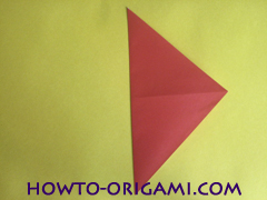 Simple flower origami - how to origami simple flower instruction5