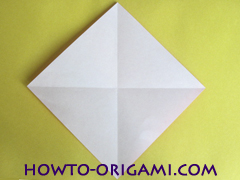 Simple flower origami - how to origami simple flower instruction6