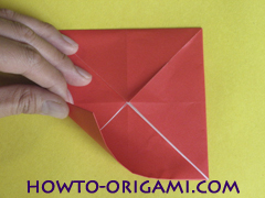 Simple flower origami - how to origami simple flower instruction9
