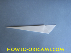 Swan origami - How to make swan origami instruction 10 - Child origami