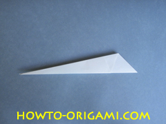 Swan origami - How to make swan origami instruction 12 - Child origami