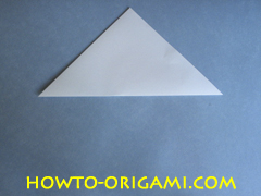 Swan origami - How to make swan origami instruction 2 - Child origami