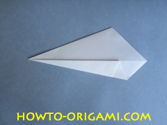 Swan origami - How to make swan origami instruction 7 - Child origami