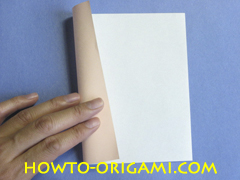 Table origami - How to make table origami instruction 1- Children origami