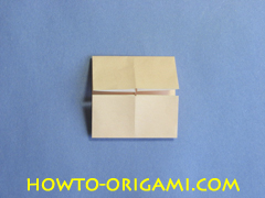 Table origami - How to make table origami instruction 11 - Children origami