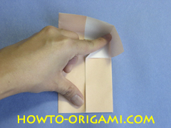Table origami - How to make table origami instruction 15 - Children origami