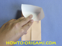 Coffee table origami- How to make table origami instruction 16 - Kid's origami