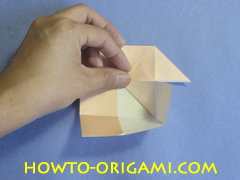 Table origami - How to make table origami instruction 19 - Children origami
