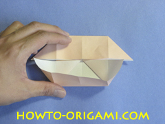 Coffee table origami- How to make table origami instruction 20 - Kid's origami