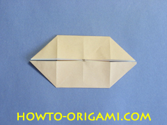 Table origami - How to make table origami instruction 21- Children origami
