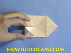 Table origami - How to make table origami instruction 23- Children origami
