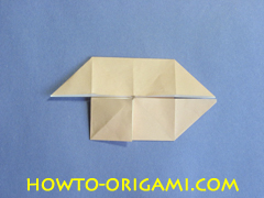 Coffee table origami- How to make table origami instruction 24 - Kid's origami