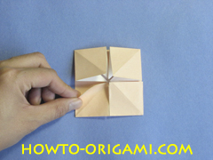 Coffee table origami- How to make table origami instruction 26 - Kid's origami