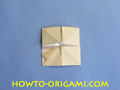 Table origami - How to make table origami instruction 27- Children origami
