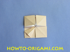 Coffee table origami- How to make table origami instruction 28 - Kid's origami