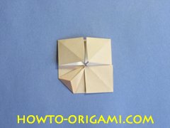 Table origami - How to make table origami instruction 29- Children origami