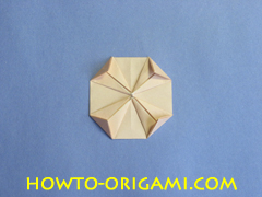Coffee table origami- How to make table origami instruction 30 - Kid's origami