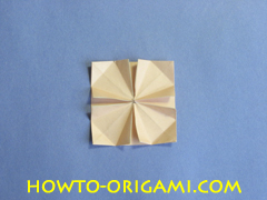 Table origami - How to make table origami instruction 31 - Children origami