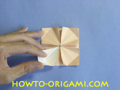 Table origami - How to make table origami instruction 33- Children origami