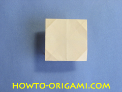 Table origami - How to make table origami instruction 37- Children origami