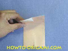 Table origami - How to make table origami instruction 7- Children origami