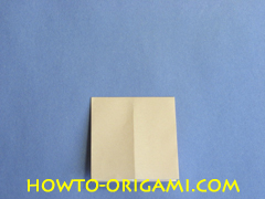 Coffee table origami- How to make table origami instruction 8 - Kid's origami