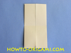 Table origami - How to make table origami instruction 9- Children origami