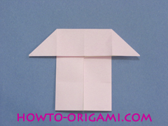 boat origami, how to origami a tricky boat instruction14 - easy origami for kids