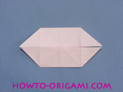 boat origami, how to origami a tricky boat instruction17 - easy origami for kids