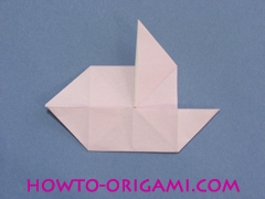 boat origami, how to origami a tricky boat instruction18 - easy origami for kids