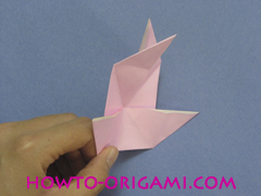 boat origami, how to origami a tricky boat instruction20 - easy origami for kids