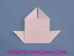 boat origami, how to origami a tricky boat instruction21 - easy origami for kids
