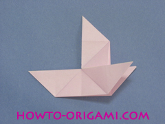 boat origami, how to origami a tricky boat instruction23 - easy origami for kids