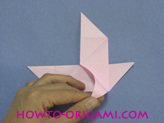 boat origami, how to origami a tricky boat instruction24 - easy origami for kids