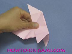 boat origami, how to origami a tricky boat instruction26- easy origami for kids