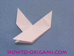 boat origami, how to origami a tricky boat instruction28- easy origami for kids