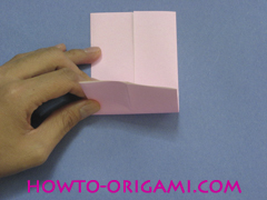 boat origami, how to origami a tricky boat instruction6 - easy origami for kids