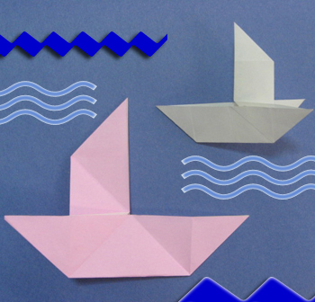 Boat Origami How To A Tricky Instruction