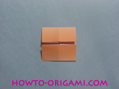 Boats origami - how to origami twin boats instruction10
