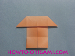 Boats origami - how to origami twin boats instruction15