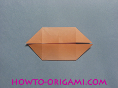 Boats origami - how to origami twin boats instruction18