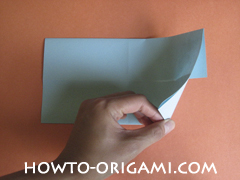 Wallet origami - How to make wallet origami instruction 10 - Kids origami