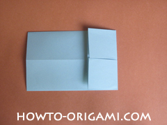 Wallet origami - How to make wallet origami instruction 11 - Kids origami