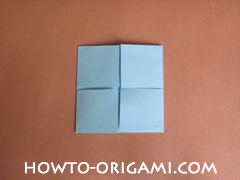 Wallet origami - How to make wallet origami instruction 12 - Kids origami