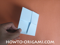 Wallet origami - How to make wallet origami instruction 13 - Kids origami