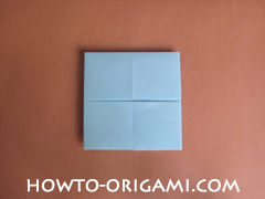 Wallet origami - How to make wallet origami instruction 14 - Kids origami