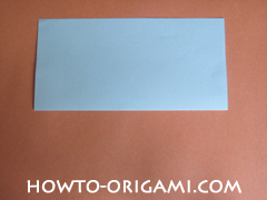 Wallet origami - How to make wallet origami instruction 2 - Kids origami