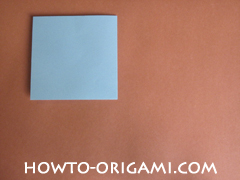 Wallet origami - How to make wallet origami instruction 3 - Kids origami
