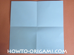 Wallet origami - How to make wallet origami instruction 4 - Kids origami